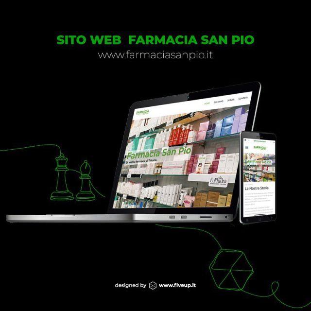 Un altro obiettivo è stato raggiunto!💪💪  Una new entry di cui siamo veramente orgogliosi! Il sito della @farmaciasanpio_gioia è online! 𝐒𝐚𝐥𝐮𝐭𝐞, 𝐛𝐞𝐧𝐞𝐬𝐬𝐞𝐫𝐞 𝐞 𝐛𝐞𝐥𝐥𝐞𝐳𝐳𝐚 𝐬𝐞𝐦𝐩𝐫𝐞 𝐚 𝐩𝐨𝐫𝐭𝐚𝐭𝐚 𝐝𝐢 𝐜𝐥𝐢𝐤! 🔗https://farmaciasanpio.it/   Grazie al Dottor @laporta.michele e al suo team per la fiducia e la collaborazione! 💚 . . . #digitalagency #webagency #fiveupagency #farmasanpio #gioiadelcolle #farmaciadigitale #sitoweb